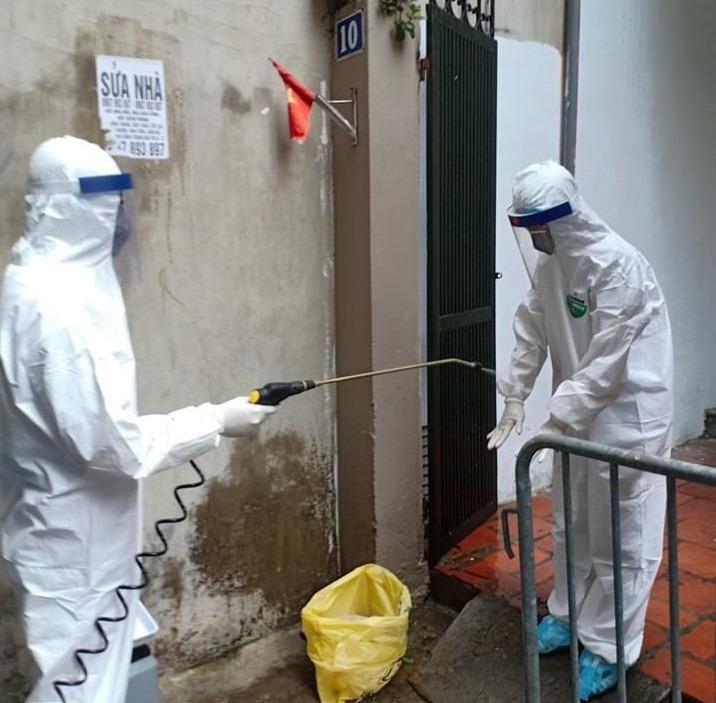 Hà Nội: Xét nghiệm PCR cho 13 người liên quan bệnh nhân Covid-19 tại phố Trương Định, chưa xác định có F1 1