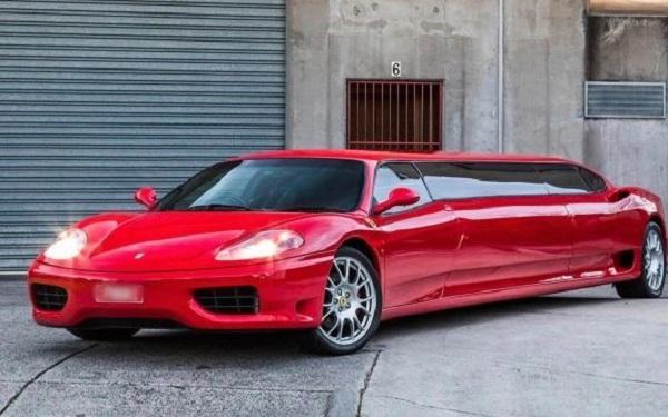 Xế hộp Ferrari 'hoán đổi thân phận' thành limousine tốc độ 'khủng' nhất thế giới 1