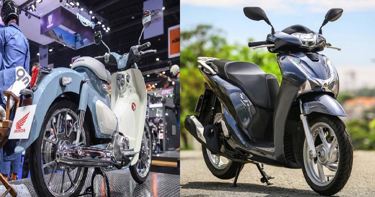 Bảng giá xe Honda, bảng giá Honda Cub ngày 20/9/2020: Ngang cơ Honda SH