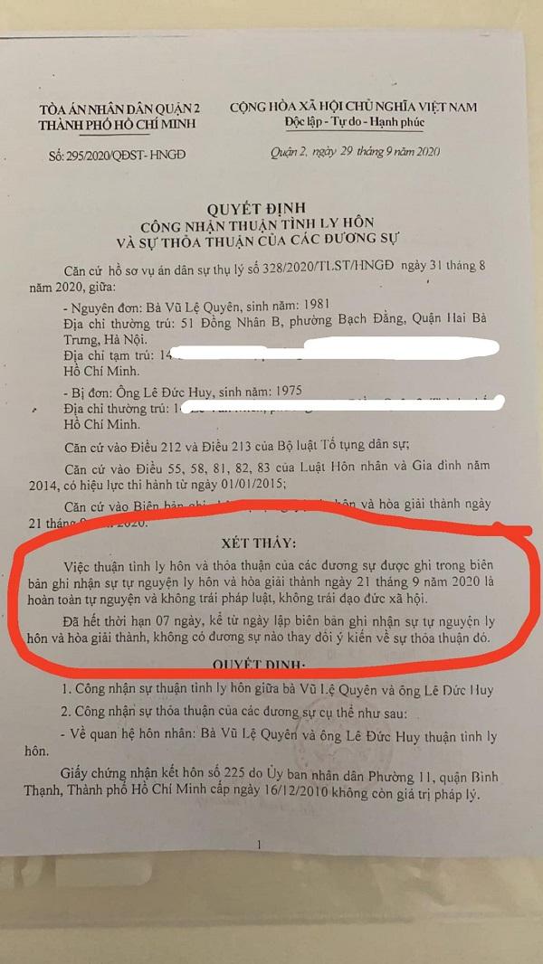 Lệ Quyên chính thức lên tiếng về ồn ào ly hôn, khẳng định đầy đanh thép  3