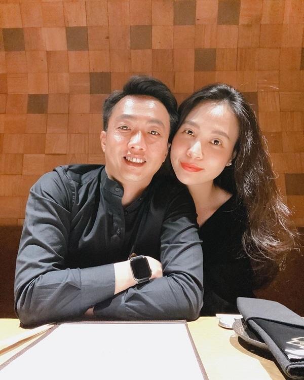 Đàm Thu Trang liều lĩnh khoe cận mặt 'người tình kiếp trước' của Cường đô la 3