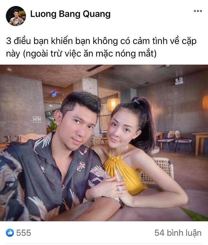 Lương Bằng Quang hỏi ý dân mạng về tình yêu 2 năm với Ngân 98, hậu lộ dấu hiệu chán chường 2