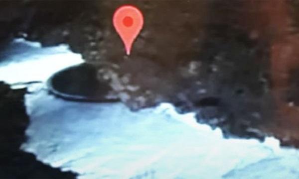 'Thợ săn' UFO phát hiện đĩa bay người ngoài hành tinh sau lớp băng tan tại Nam Cực  1