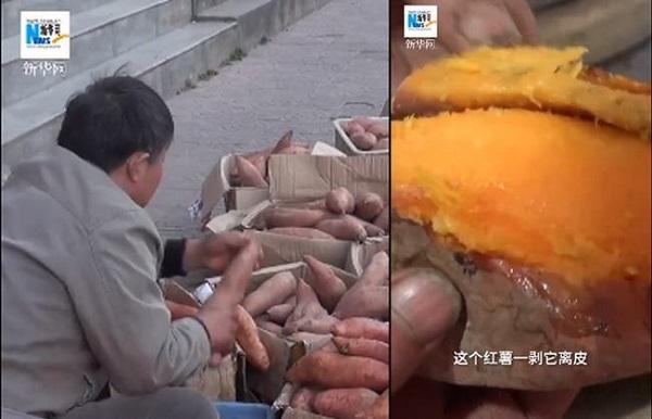 به مدت 17 سال او با اصرار سیب زمینی شیرین می فروخت ، این مرد خانه ای 7 میلیاردی برای پسرش خرید 2