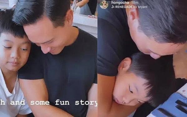 Hồ Ngọc Hà khoe ảnh gia đình đẹp cực phẩm, bất ngờ sự chú ý lại hướng về con trai Cường đô la 4