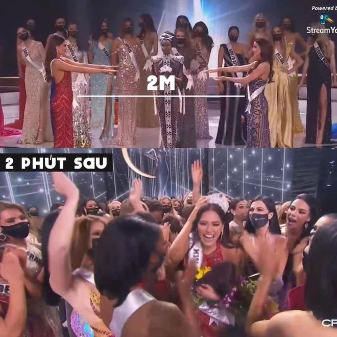 Miss Universe 2020 dù nâng cao tinh thần chống Covid-19 nhưng vẫn bị đánh giá ngừa dịch 'giả trân' 4