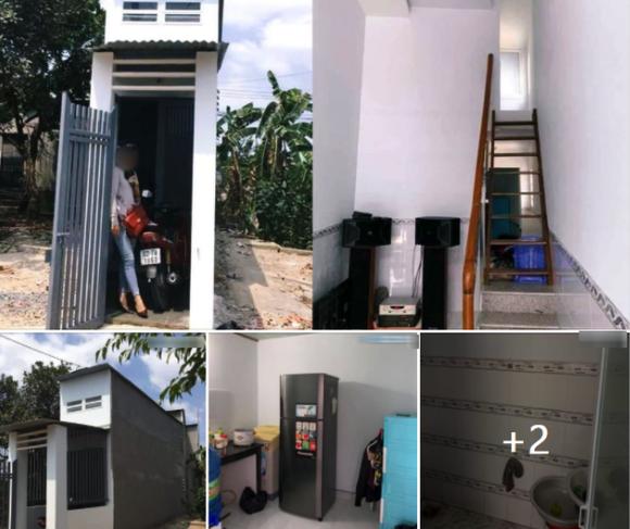 یک خانه بسیار کوچک و فوق العاده کوچک در دونگ نای تب ایجاد می کند ، من باور نمی کنم کسی بتواند 2 زندگی کند