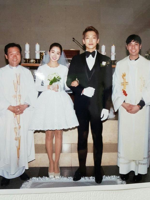 Bức ảnh cưới màu duy nhất của Kim Tae Hee - Bi Rain bất ngờ lộ diện sau 2 năm 3