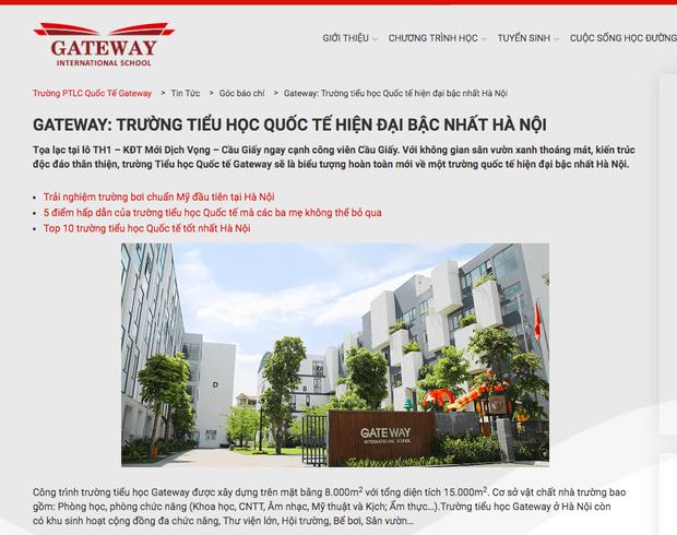 Lộ mức học phí của trường Gateway: 120 triệu đồng chưa kể các phụ phí 1