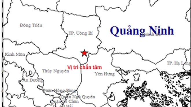 Xảy ra động đất gây rung chuyển nhà dân ở Quảng Ninh 1