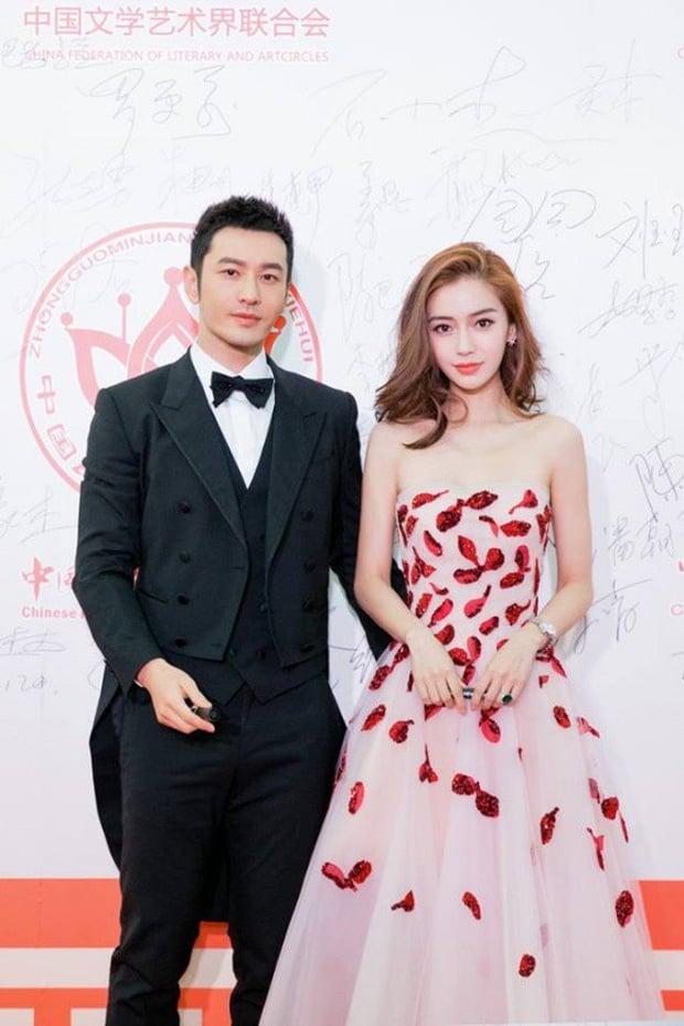 Huỳnh Hiểu Minh và Angelababy hội ngộ chung sân khấu, đập tan đin đồn ly hôn 2