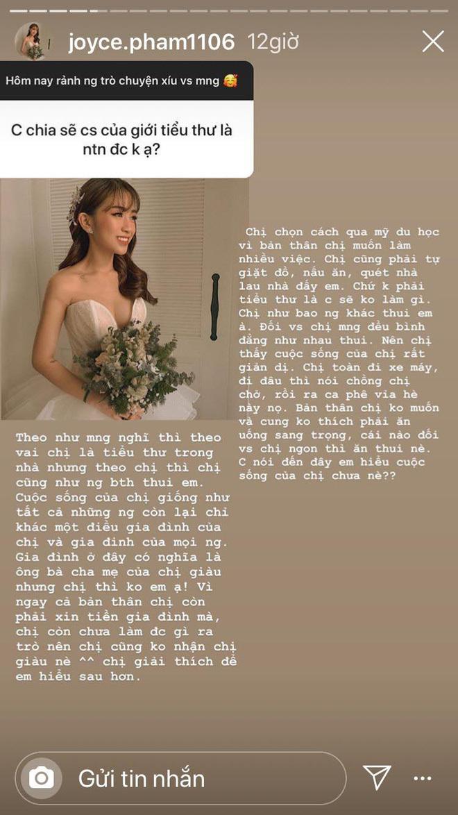 Con gái Minh Nhựa lần đầu hé lộ cuộc sống tự lập sau đám cưới 20 tỷ 2