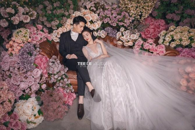 Đông Nhi bị fan soi ra váy cưới 'đụng hàng' với Nhã Phương và Hari Won 4