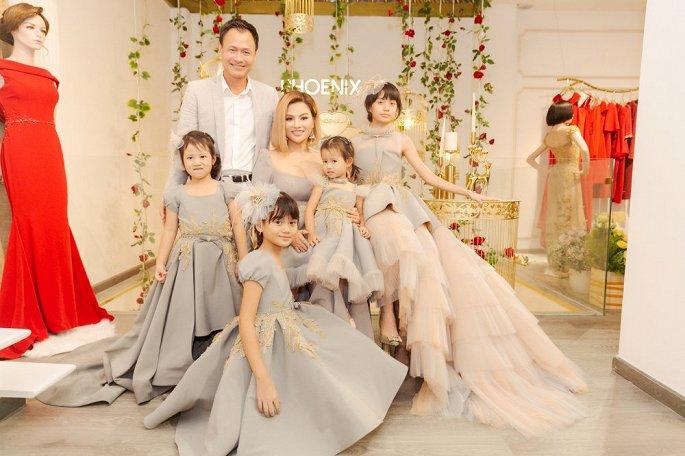 Vũ Thu Phương: Làm dâu Hoàng tộc Campuchia, sống với 2 con riêng của chồng 2