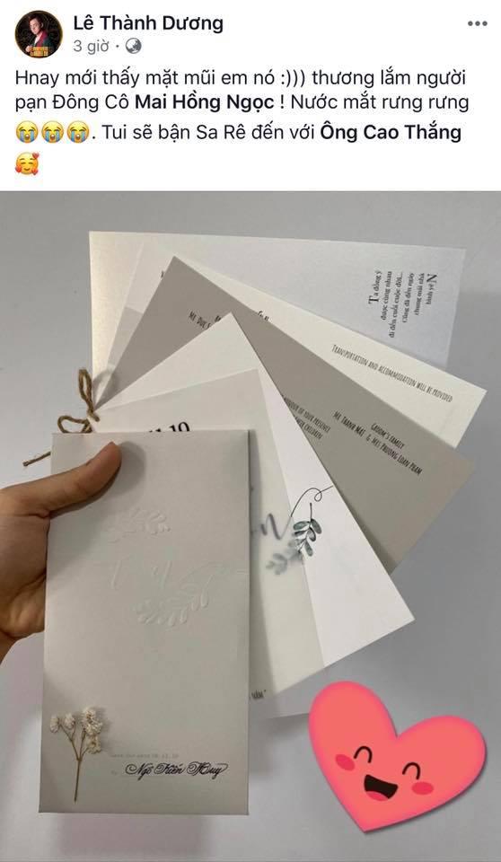 Ngô Kiến Huy nhận được thiệp mời, hứa hẹn quậy tưng bừng đám cưới Đông Nhi 1