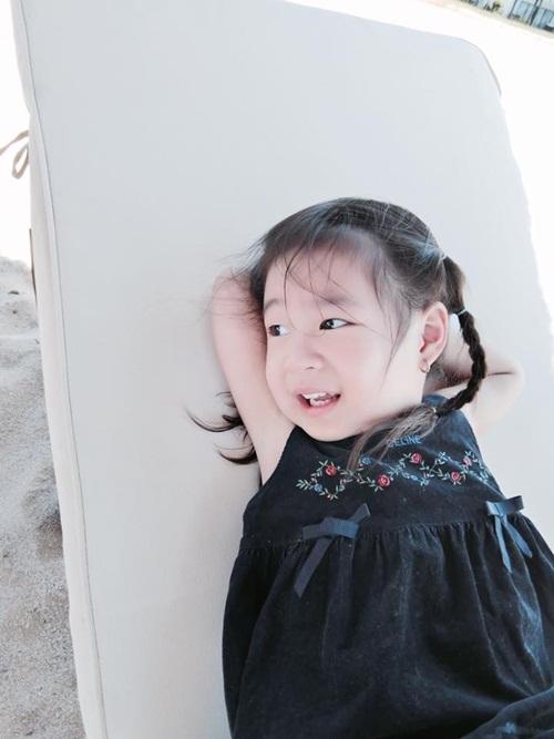 Công chúa nhà Lý Hải Minh Hà gây sốt vì độ đáng yêu, dễ thương 3