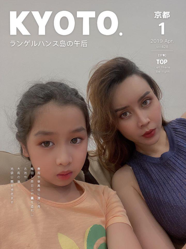 Ái nữ nhà Lưu Hương Giang: Mới 8 tuổi đã xinh xắn ra dáng mỹ nhân 2