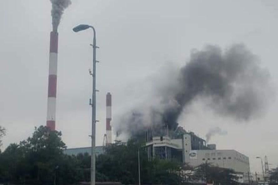 Nhà máy nhiệt điện Uông Bí phát nổ, khói đen bốc cao nghi ngút 1