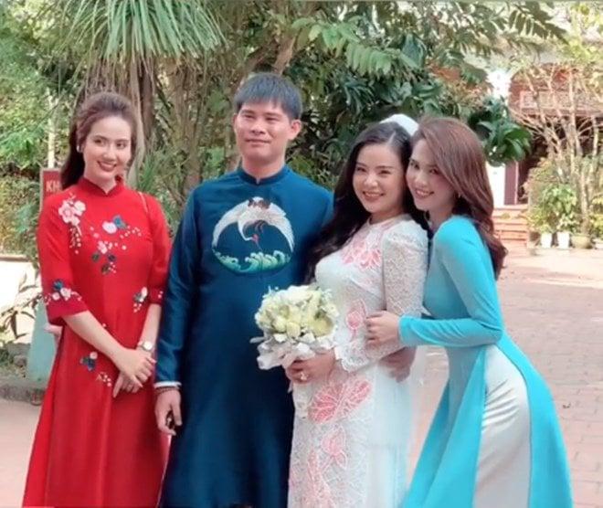 Ngọc Trinh không cần hở bạo, diện áo dài cũng khiến cả đám cưới phải ngoái nhìn 2