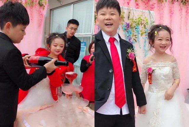 Đám cưới của cặp đôi tí hon gây sốt: Mặt thiếu nhi, tuổi đã ngoài 30 1