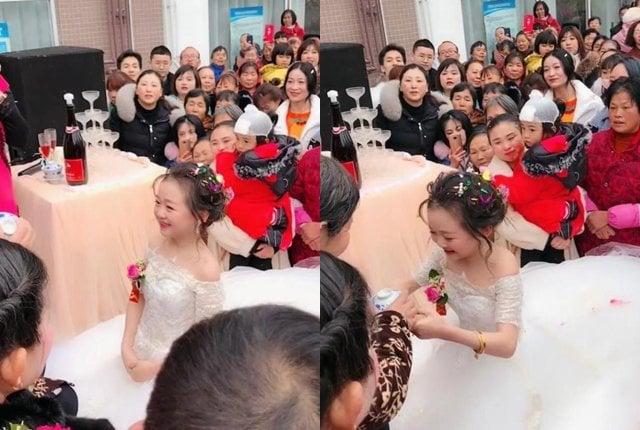 Đám cưới của cặp đôi tí hon gây sốt: Mặt thiếu nhi, tuổi đã ngoài 30 2