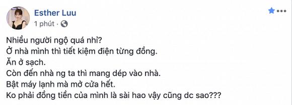 Hari Won lần hiếm hoi tức giận, bức xúc chỉ trích khách đến nhà  1