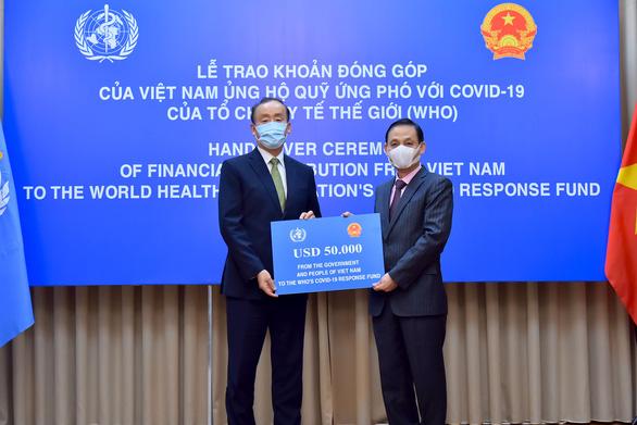 Việt Nam trao 50.000 USD ủng hộ WHO phòng chống dịch Covid-19 1