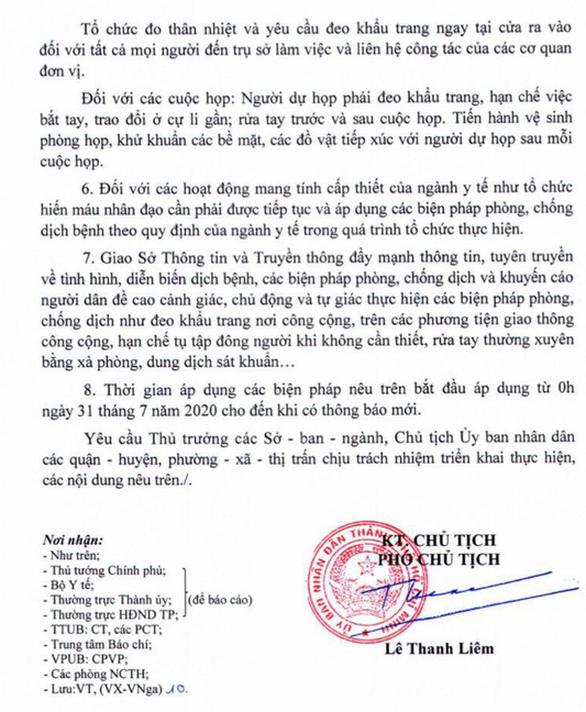 TP.HCM gửi công văn khẩn, yêu cầu cấm tụ tập 30 người, dừng hoạt động quán bar 2