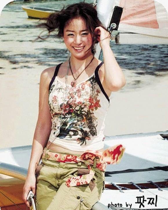 Kim Tae Hee lộ loạt ảnh xấu hổ, không dám nhìn lại trước khi cưới Bi Rain 5