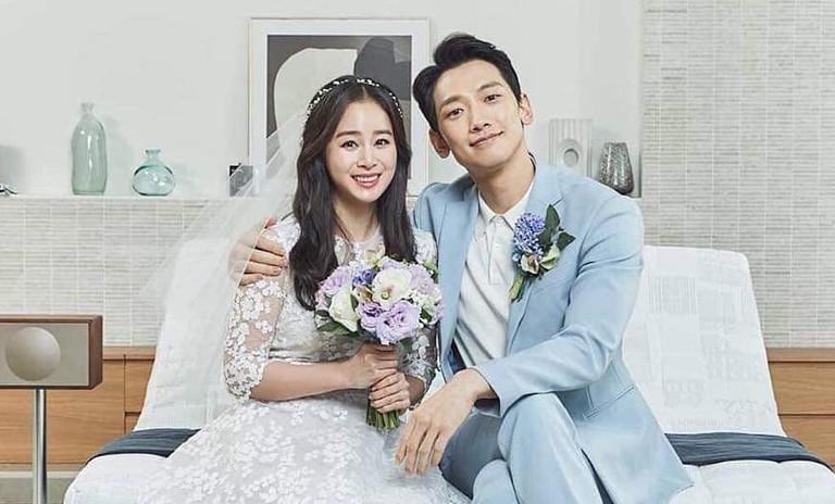 Kim Tae Hee lộ loạt ảnh xấu hổ, không dám nhìn lại trước khi cưới Bi Rain 1