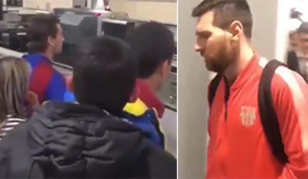 Bị CĐV Barca chửi rủa tại sân bay, Messi ngơ ngác: