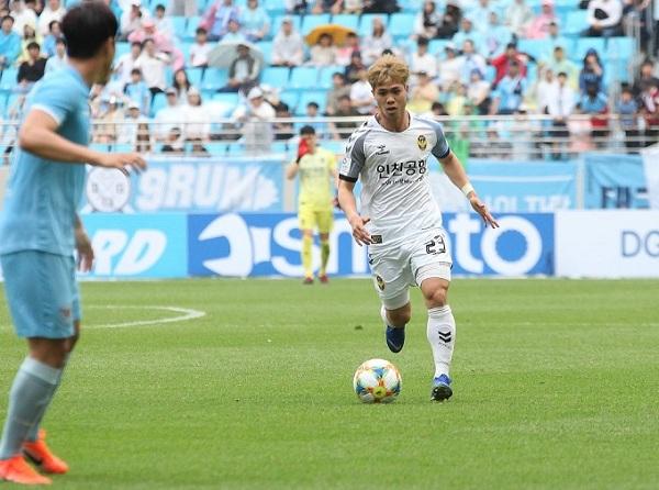 Thống kê sốc của Công Phượng tại K.League 1