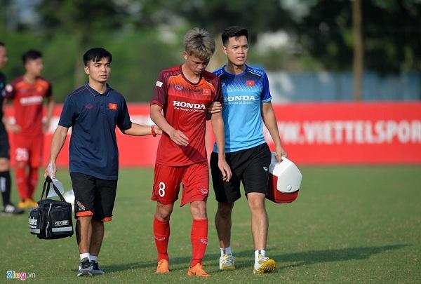 Đá giao hữu với CLB Viettel, U23 Việt Nam mất 2 cầu thủ vì chấn thương 2