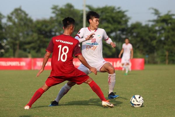 Đá giao hữu với CLB Viettel, U23 Việt Nam mất 2 cầu thủ vì chấn thương 1