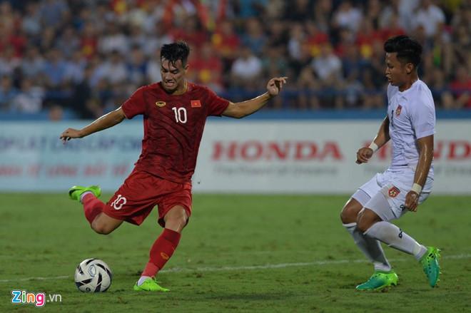 Áp đảo đối thủ, U23 Việt Nam có chiến thắng thuyết phục trước U23 Myanmar  2