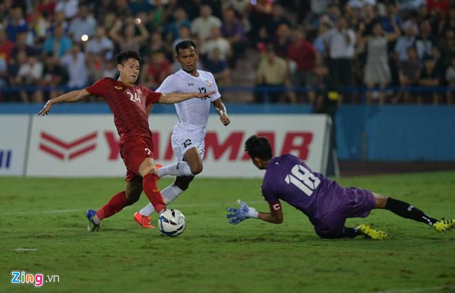 TRỰC TIẾP U23 Việt Nam vs U23 Myanmar: Martin Lo suýt lập công 3