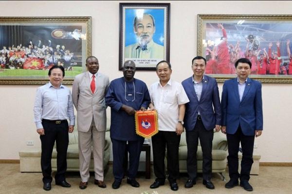 Lãnh đạo VFF phủ nhận trận giao hữu giữa ĐT Việt Nam vs Nigeria  1