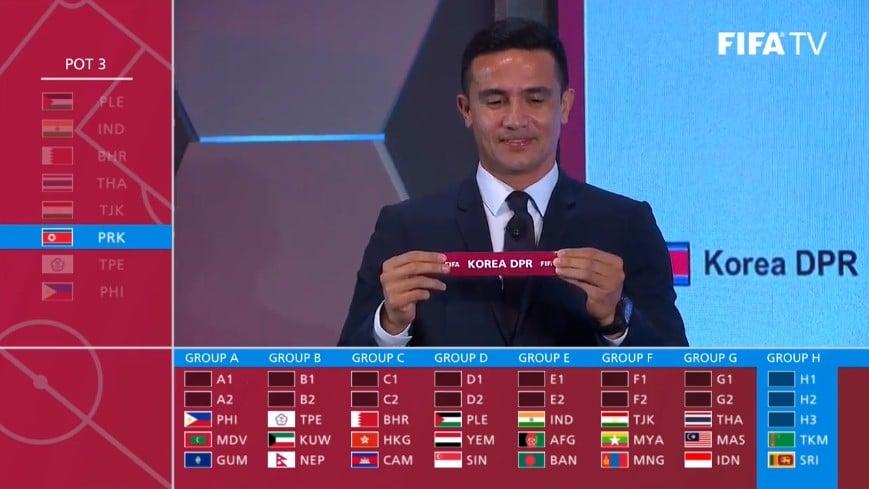 Bốc thăm vòng loại World Cup 2022 khu vực châu Á: Việt Nam lọt bảng toàn Đông Nam Á 5