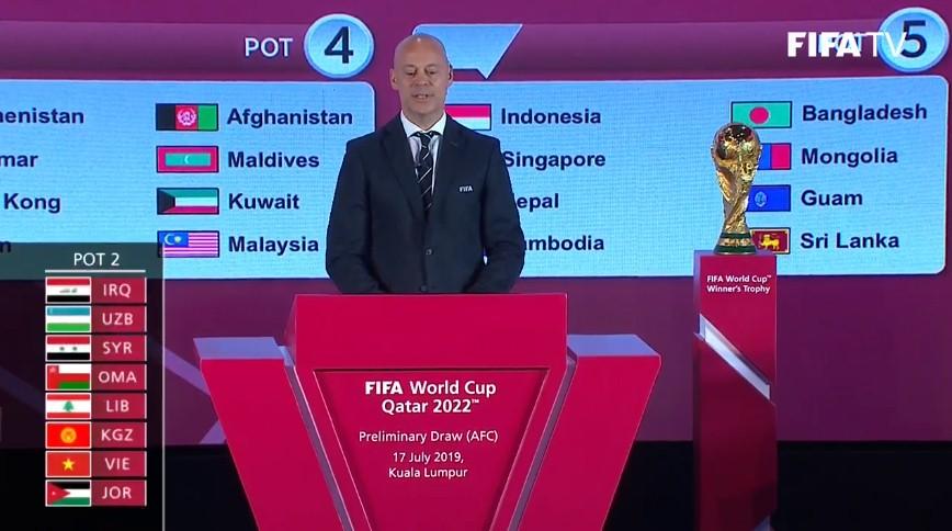 Bốc thăm vòng loại World Cup 2022 khu vực châu Á: Việt Nam lọt bảng toàn Đông Nam Á 8