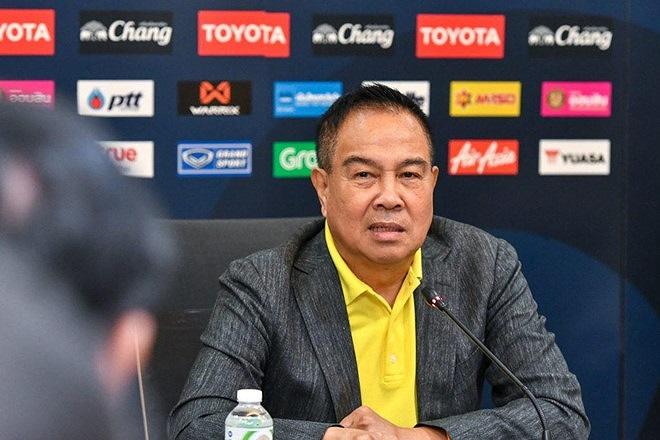 Chủ tịch LĐBĐ Thái Lan phũ phàng nhận xét: 'Chúng ta hoàn toàn có thể thua Việt Nam' 2