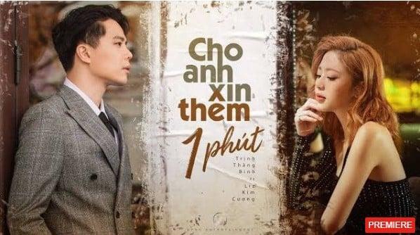 Lời bài hát 'Cho anh xin thêm 1 phút' - bản hit đánh dấu sự trở lại của Trịnh Thăng Bình 1