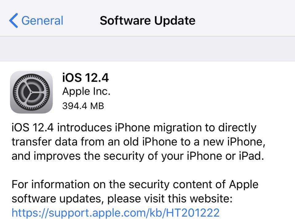 Apple đã chính thức ra mắt iOS 12.4, bạn có thể cập nhật từ bây giờ 1