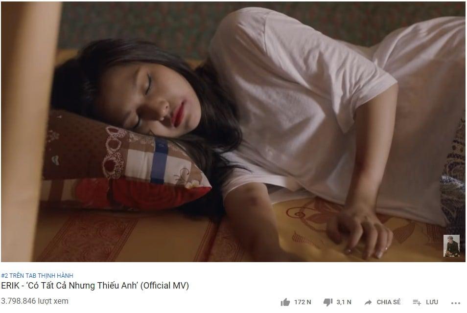 Lời bài hát 'Có tất cả nhưng thiếu anh' - ca khúc chỉ mất 24h để lọt top 2 trên Youtube 1
