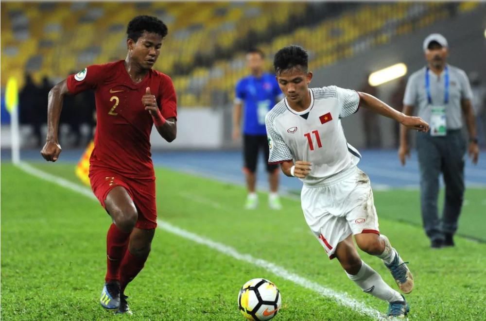 Thất bại trên chấm phạt đền trước U15 Indonesia, U15 Việt Nam trắng tay rời giải 1