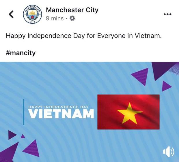 Các CLB lớn của châu Âu gửi lời chúc mừng lễ Quốc khánh Việt Nam 2