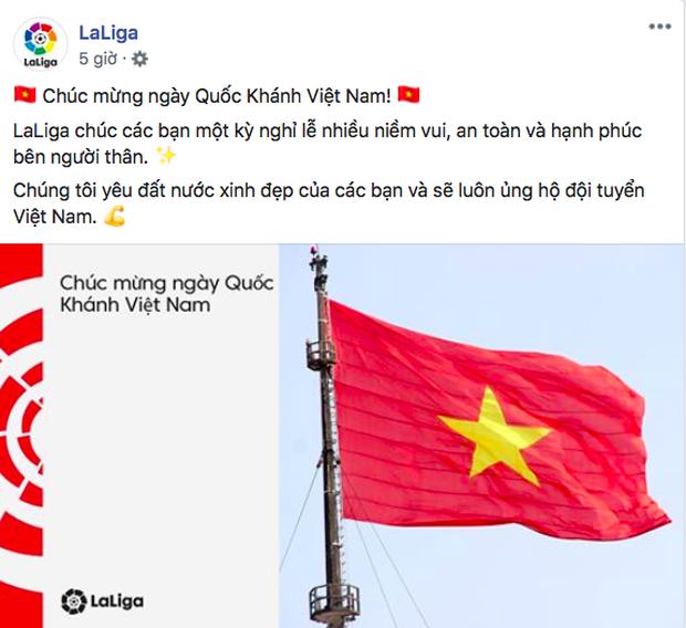 Các CLB lớn của châu Âu gửi lời chúc mừng lễ Quốc khánh Việt Nam 4