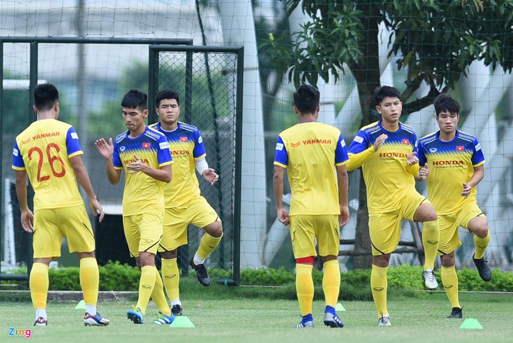 HLV Park Hang Seo đem viện binh từ ĐTQG để giúp U22 Việt Nam đấu Trung Quốc 2