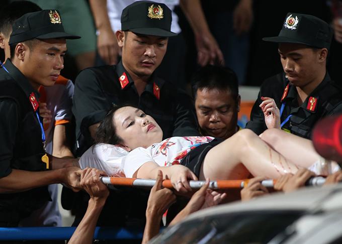 Chân dung CĐV Nam Định đốt pháo sáng tại SVĐ Hàng Đẫy 5
