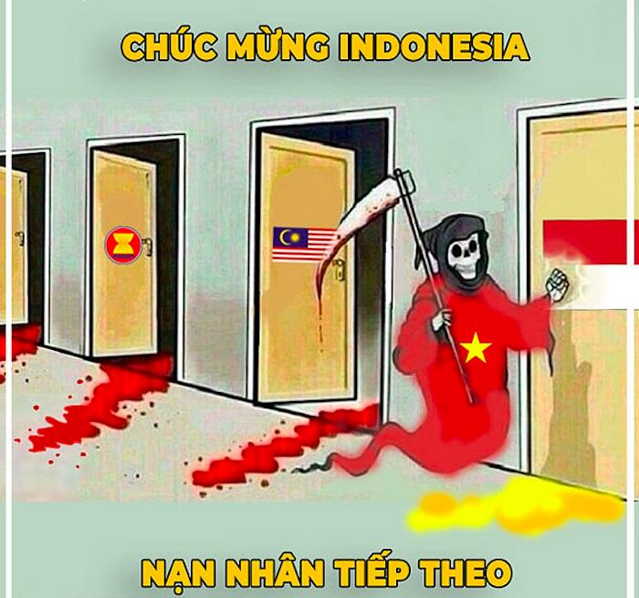 Ảnh chế ĐT Việt Nam vùi dập Indonesia: Duy Mạnh đẹp trai nhất tối nay 1