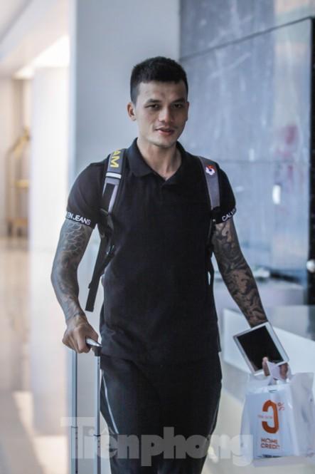 Toàn cảnh ĐT Việt Nam ngày hội quân: Cầu thủ chưa quen với cái lạnh tại Hà Nội 5